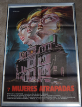 House on Sorority Row 1983 Spanish Horror Poster